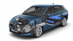斯柯达天然气版车型官图发布 续