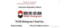 WiMi微美云息赴美IPO让中国5G全息通讯AI视觉全球化