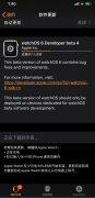 苹果watchOS 6开发者预览版Beta 4推送 主要是性能改进等