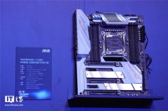 华硕PRIME X299 EDITION 30主板亮相 搭载2英寸LiveDash OLED系统显示屏