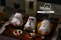 """VIVI CAT懒坐系列""大驾光临,"