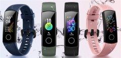 荣耀手环5将于8月8日在印度上市 内置100mAh容量电池