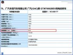 """丰田版""""Aion S""""曝光 合工况能耗表现为13.1kWh/100km"""