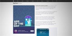 苹果更新App Store Today栏目故事预览页面