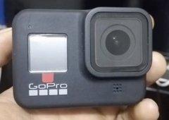 外媒曝光GoPro Hero8实机图谍照