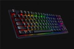 雷蛇推出猎魂光蛛竞技版游戏键盘 触发点仅为1mm
