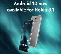 诺基亚8.1国际版现已推送Android