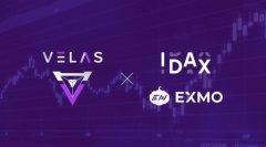Velas公链生态代币VLX持续新增上