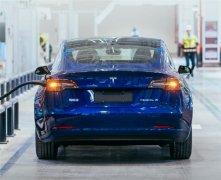 特斯拉上海工厂生产的Model 3将