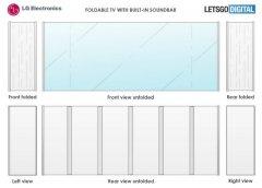 LG一项可折叠电视设计专利曝光