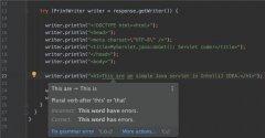 Java开发工具IntelliJ IDEA发布新插件Grazie 可检查简单拼写错误