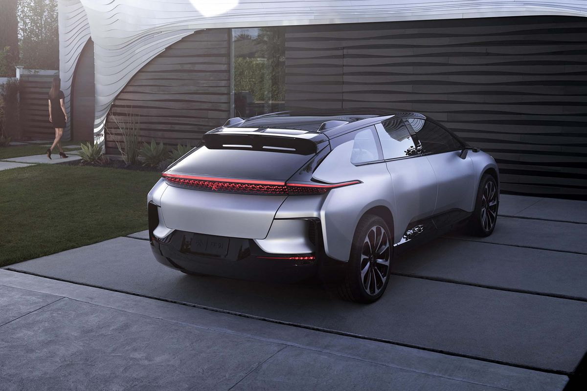 FF宣布两名副总裁将加入公司 下周将展示FF91车内