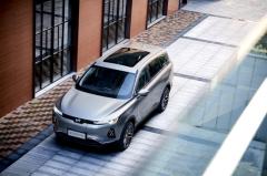 威马纯电动SUV EX6 Plus正式上市