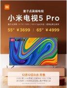 小米电视5 Pro 55英寸和65英寸版