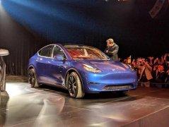 特斯拉的电动汽车Model Y在2020年中期每周产量将达到1000辆