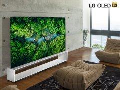 """LG推出"""" 真8K""""OLED和LCD电视 支持HEVC、VP9和AV1内容"""
