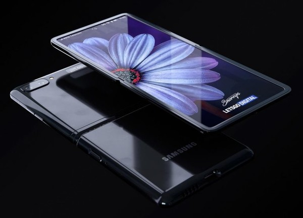 三星Galaxy Z Flip渲染图(图取自letsgodigital)