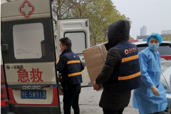 共抗疫情,百世集团免费承运救援物资超70吨