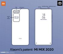 小米MIX 2020专利曝光 正面保持高屏占比