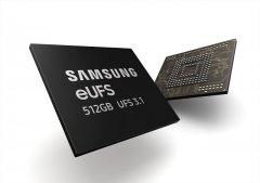 三星量产业内最快UFS 3.1手机闪存 写速达到惊人1200MB/s