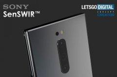 索尼申请SenSWIR商标 包含1050至1550 nm波长