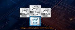 英特尔发布至强W-1200系列Comet Lake工作站处理器新品 支持英特尔硬件防护