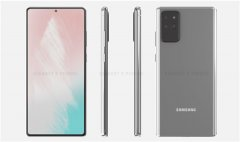 三星Galaxy Note 20最新渲染图曝