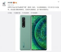 """OPPO Find X2 Pro推""""竹青""""(素"""