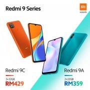 Redmi 9A/9C正式发布 内置5000mAh电池