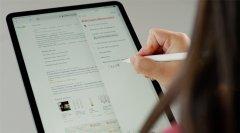 苹果工程师谈iPadOS 14中Apple Pencil功能 允