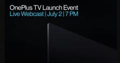 新款一加电视将于今晚在印度发布 面板将采用