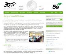 3GPP RAN6工作组正式关闭 2G/3G开始清频退网