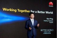 """华为郭平表示业界需5""""机""""协同 充分释放5G网"""