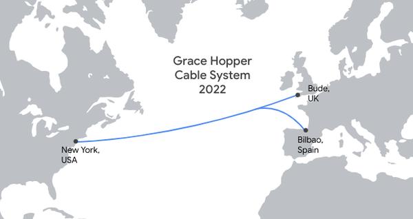 谷歌正在建设第四条私人海底电缆(图源ZDNet)
