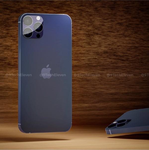 iPhone 12 Pro Max渲染图