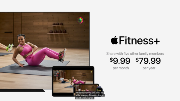 Apple Fitness+服务