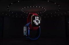 苹果发布Apple Watch Series 6:新增15秒血氧