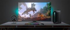 加速4K高刷屏普及 戴尔大屏幕游戏显示器Alienware 55价格降到3039美元
